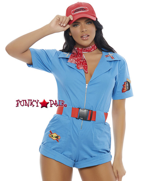 ForPlay | FP-557230, Pit Stop Hottie Romper Costume