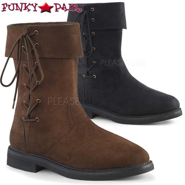 Funtasma | ROMLOCK-220, Men's Renaissance Cuff Boots
