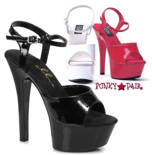 Platform Ankle Strap Sandals | Ellie Shoes 601-Juliet