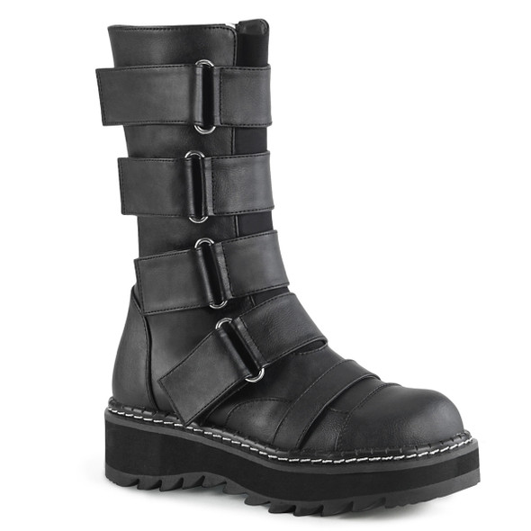 Strap Mid-Calf Boots Demonia LILITH-211