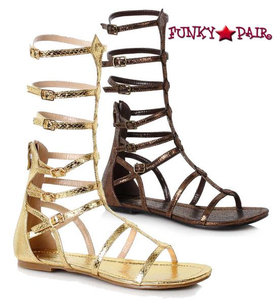 Ellie Shoes   015-Zena, Women Flat Mid Calf Gladiator Sandal