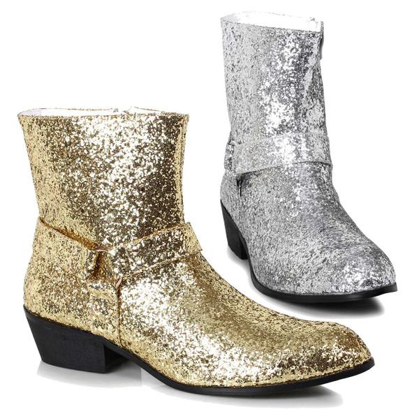 Men's Glitter Boots | Ellie Shoes 129-Fever
