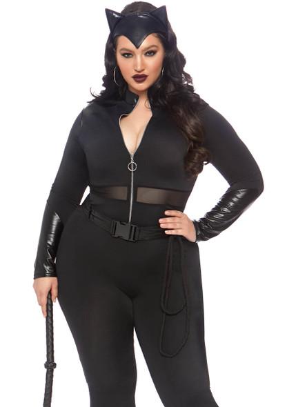 LA-86841X, Sultry Supervillain Costume by Leg Avenue