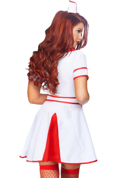 Leg Avenue LA-86840, Hospital Honey Nurse Costume Back View