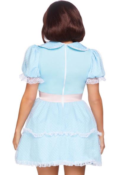 Leg Avenue |LA-86866 Creepy Sibling Costume back view