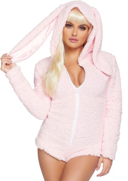 Leg Avenue LA-86824, Women's Cuddle Bunny Costume Front View