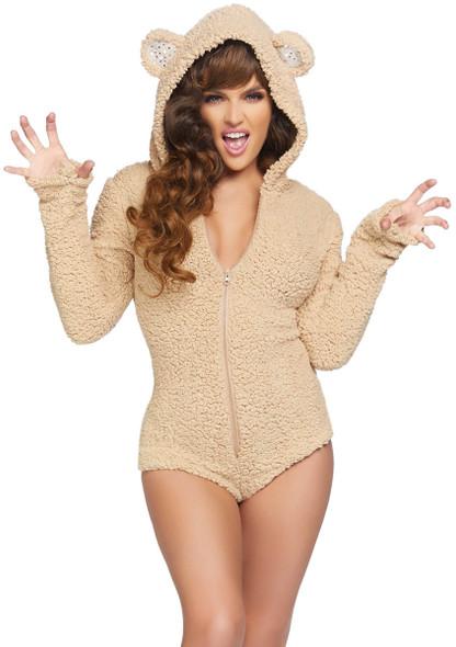 Women's Cuddle Bear Costume by Leg Avenue LA-86823