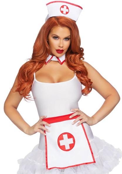 A2872, Retro Nurse Kit by Leg Avenue