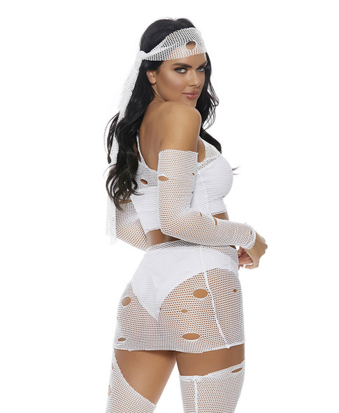 Hot Wrap Mummy Costume by Forplay FP-559630, Back View