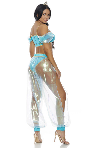 Forplay Costume | FP-559612, A Whole New World Princess Costume Back View