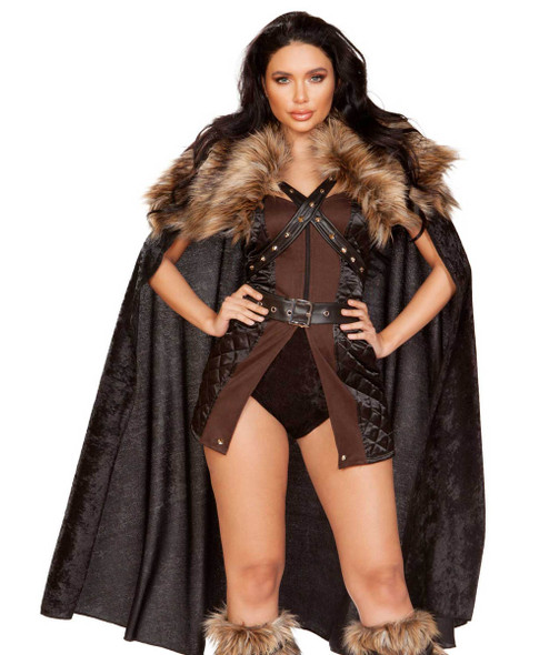 R-4896, Women's Northern Warrior Costume by Roma