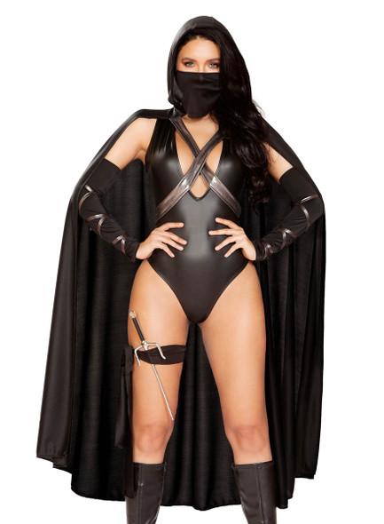 Roma Costume R-4898, Sexy Ninja Villain Costume