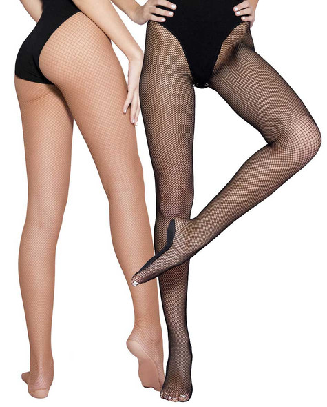 Music Legs | ML-90003, Professional Dancers Fishnet Tights