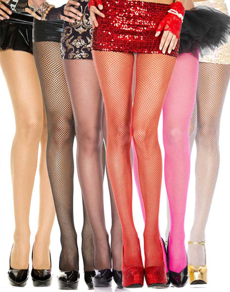 Music Legs | ML-9000, Fishnet Spandex Pantyhose