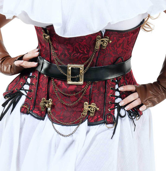 S9009X, Plus Size High Seas Honey by Starline Costume close up view