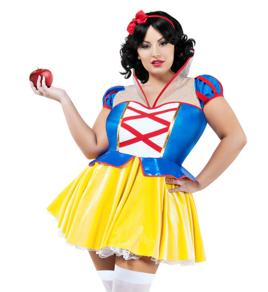 Plus Size Women's Snow White Costume