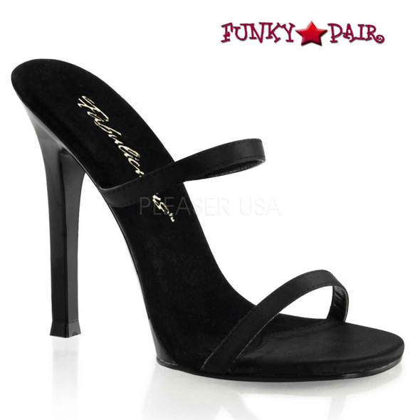 Fabulicious | GALA-02, 4.5 Inch High Heels with two Band
