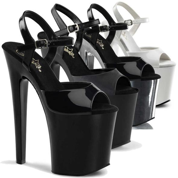 8 Inch Platform Exotic Dancer Shoes Pleaser | XTREME-809