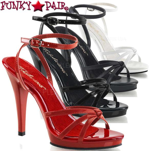 "Fabulicious | FLAIR-436, 4.5"" Evening Stiletto Heel Strappy Sandal"