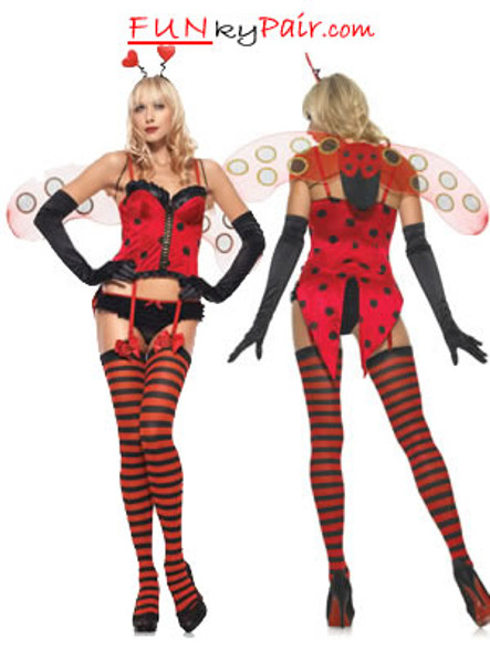 LA-53072, Sexy Sweetheart Bug Costume