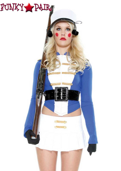 Forplay Costume | FP-557229, Toy Soldier close up front view