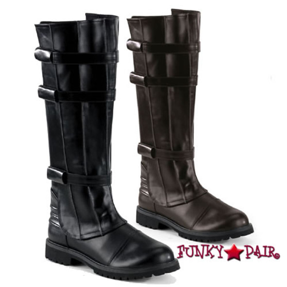 Funtasma |  WALKER-130, Superhero Men's Knee Boot