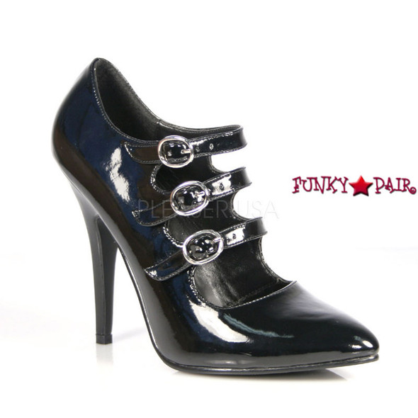 Seduce-453, 5 Inch High Heel with multi strap Pleaser Shoes