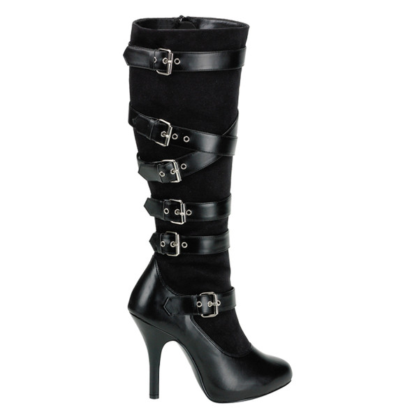 ARENA-2030, Adjustable Buckles  Knee High Boots by FUNTASMA