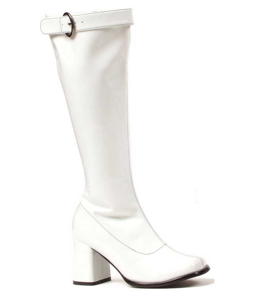 "Ellie | 300-Hippie 3"" Gogo boots with Top Buckle"