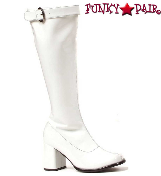 """300-Hippie 3"""" Gogo boots with Top Buckle 