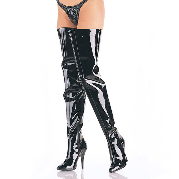 Wide Top Crotch Boots Pleaser | Seduce-4010