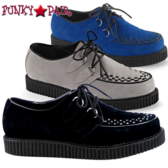 Men's Demonia | Suede Creeper-602S