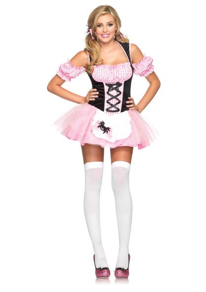Gingham Miss Muffet Costume