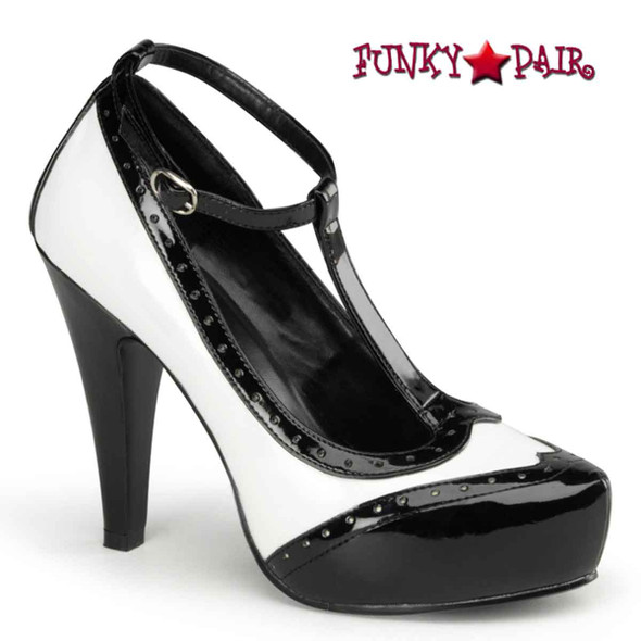 Pin-Up Couture | Bettie-22, T-Strap Spectator Pump