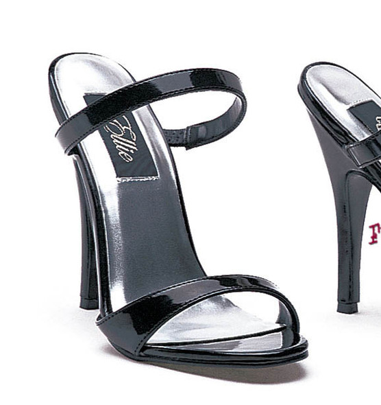 510-Maggie, 5 Inch High Heels Slip on Sandal Made by ELLIE Shoes