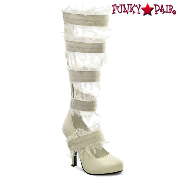 "Funtasma Mummy-100, 4.5"" Strappy Heel Costume Sandal"