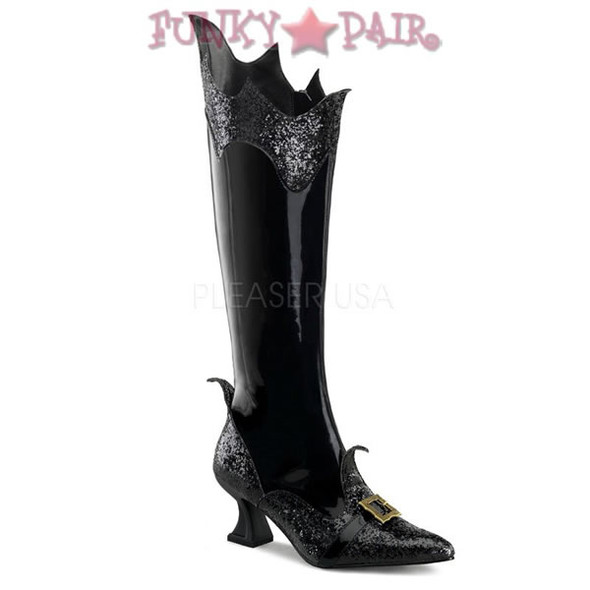 Funtasma Witch-101, Pointy Toe Witch Boot