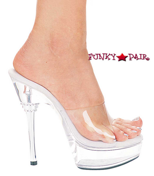 678-Vanity, 6 Inch High Heel with 1.75 Inch Platform Stilletto Pageant Shoes Made by ELLIE Shoes