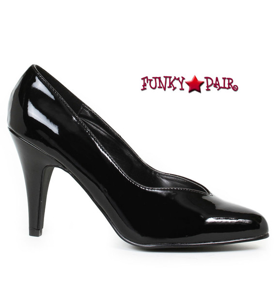 Ellie shoes | Wide Width Pumps E-8240 Plus Size 10-16 Black