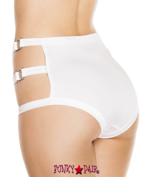 SH3194 - High Waisted Shorts with Triple Strap