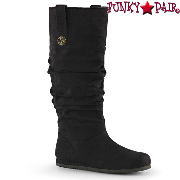 Men's Cosplay Black Renaissance-104 Boot | Funtasma