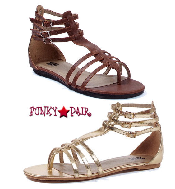 015-ROME, Strappy Gladiator Sandal, COSTUME SHOES