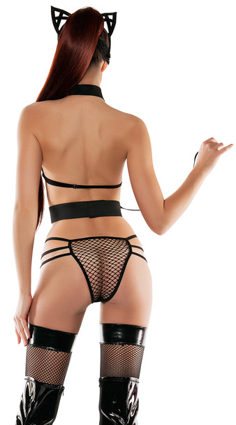 SL5014, Mesh set with Cat Ears