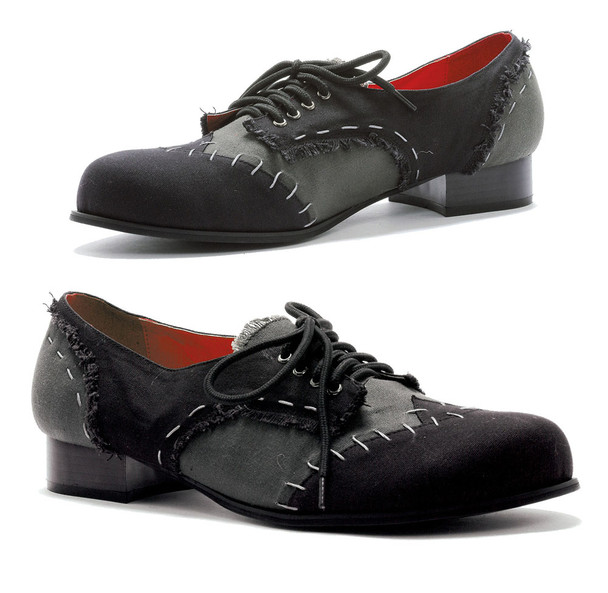 1 inch men oxford shoes with stitches detail