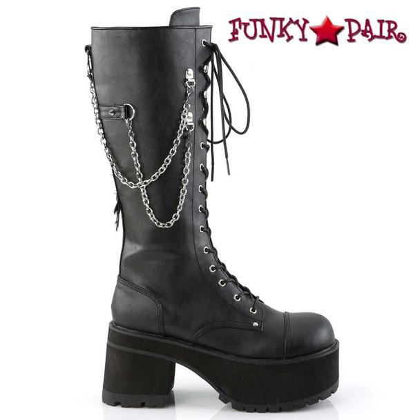 Men's Punk Boots Ranger-303 by Demonia