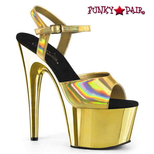 Pleaser Adore-709HGCH Gold Chrome