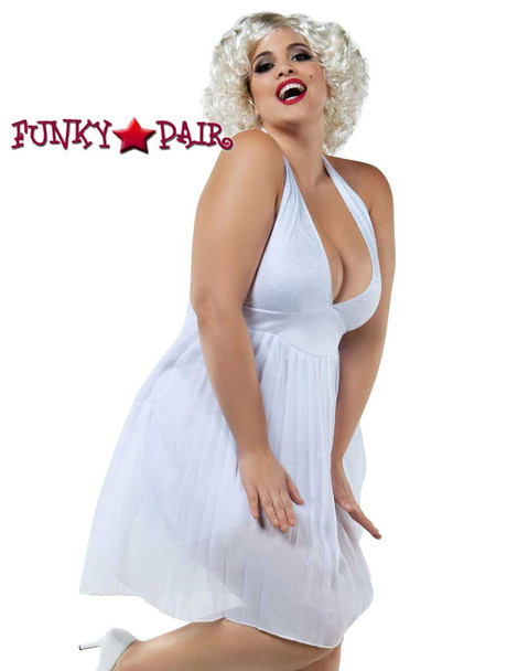 Starline Costume   S8027X, Plus Size Blonde Bombshell Front View