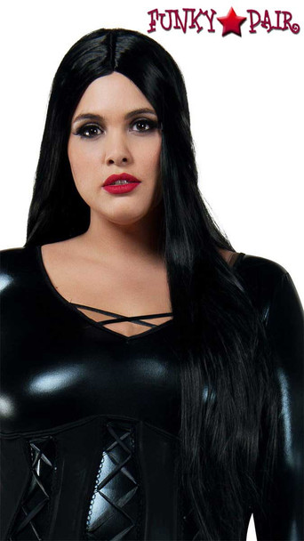 Starline Costume | W8028, Cara Mia Black Wig