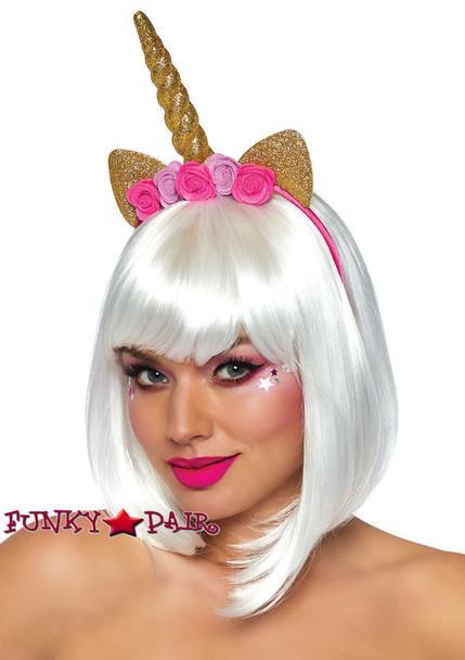 Leg Avenue   LA-2819, Golden Unicorn Headband