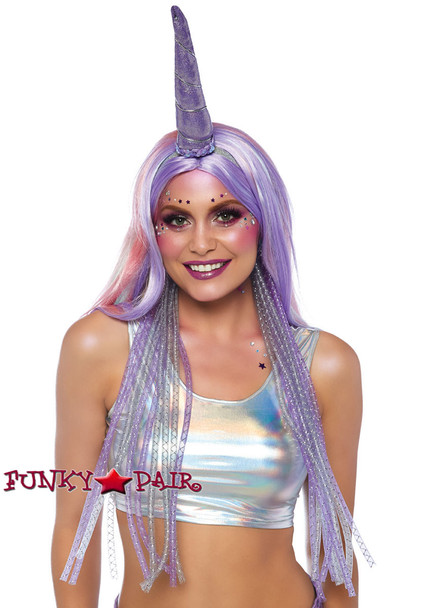 Leg Avenue | LA-2820, Mystical Shimmer Unicorn Headband